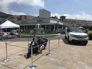展示車両 CITROEN&HARLEY-DAVIDSON